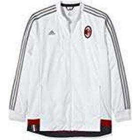 Adidas AC Milan Anthem Men's Jacket White Core White/Ch Solid Grey/Victory Red S04/Black Size:XL