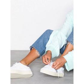D.A.T.E. Sneakers Vertigo Calf Low Top Hvid/lyserød