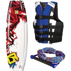 flytväst vattensport. Wakeboardpaket  Obrien System Wakeboard med Obrien  Clutch Wakeboardbindningar f55aea311fc8a