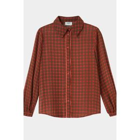Moves by Minimum Marinna Long Sleeved Shirt - Mineral Red
