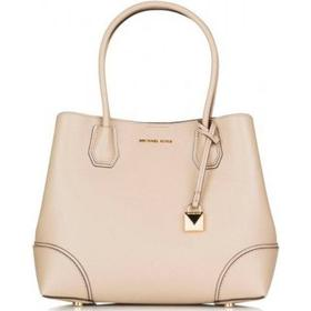Michael Kors Mercer Gallery Medium Leather Satchel - Soft Pink (30H7GZ5T6A)