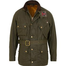 Barbour International Steve McQueen Joshua Light Weight Wax Jacket Oli