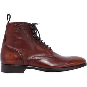 WASHED LEATHER BOOTS