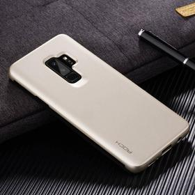 Samsung Galaxy S9+ (S9 Plus) ROCK Invisible Smart View Etui Guld