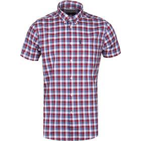 Barbour Biking Red Short Sleeve Barge Shirt