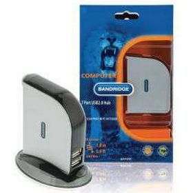 Bandridge 7-portars USB 2.0-hubb