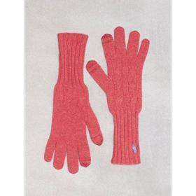 Polo Ralph Lauren Cable Wool Gloves Vanter og handsker Rød
