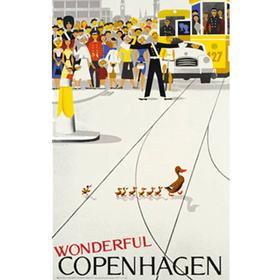 Vagnbys Wounderful Copenhagen 62x100cm Plakater
