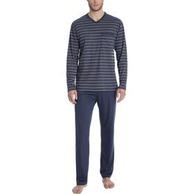 CALIDA Ferris Pyjama Jet Grey (40464-498)