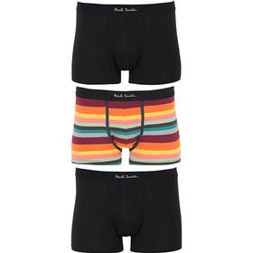 Paul Smith 3-Pack Trunk Black