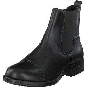 Ten Points Patricia Black, Sko, Boots & Støvler, Chelsea boots, Sort, Dame, 37