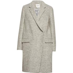 Dagmar Anissa Coat - Light Grey Melange