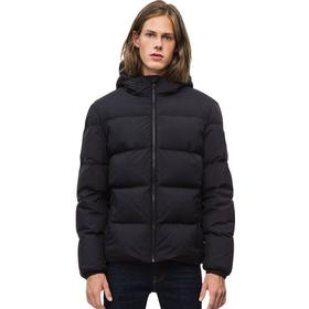 Hooded Down Jacket 099 CK BLACK XL