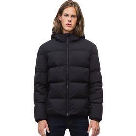 Hooded Down Jacket 099 CK BLACK XXL