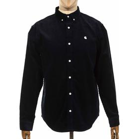 Carhartt Madison Cord Skjorte Mørkeblå