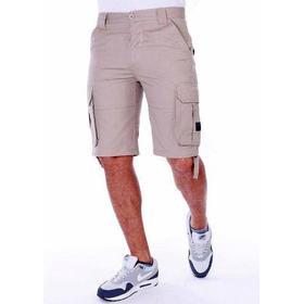 Pelle Pelle Basic Cargo Short Khaki