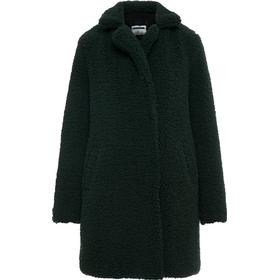 Noisy May Teddy Coat Green/Pine Grove