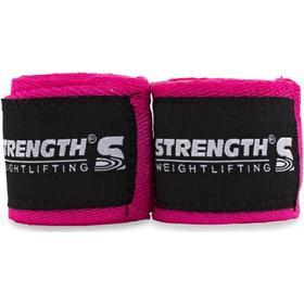 Strength Handledslinda för tyngdlyftning Pink