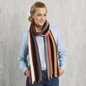 3410 Stribet tørklæde i Esther