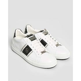 Philipp Plein Stud Sneakers Vit