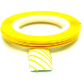 Striping tejp / Nageltejp / Nail strips Yellow