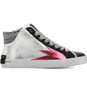 20MM FAITH LEATHER HIGH TOP SNEAKERS