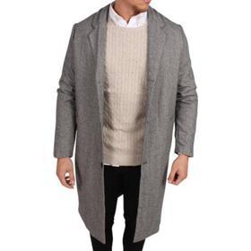 Legends Jefferson Coat Herringbone - Grey