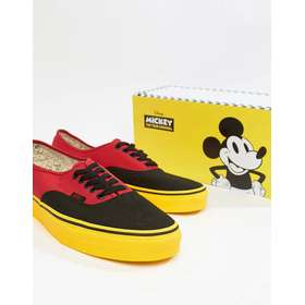 831f49f1da8 Vans x Mickey Mouse Authentic plimsolls in red VN0A38EMUK91