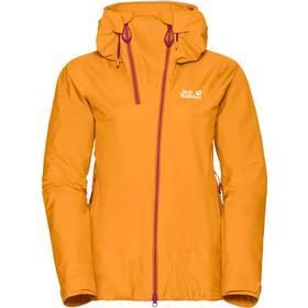 Jack Wolfskin Exolight Range Jacket Women S - citrine yellow - Salg S