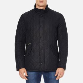Barbour Chelsea Sportsquilt Jacket Black (MQU0006)
