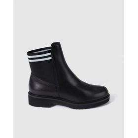 Gadea women's black sock ankle boots, Black.