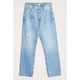 Gina Tricot Nalah Straight Jeans - Lt Blue