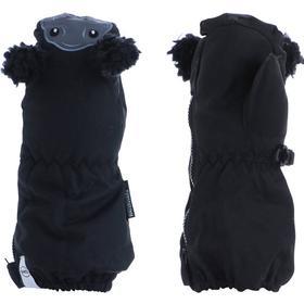 Kombi Sherpa Animal Infant Mitten - Sort - unisex - Tøj - Tilbehør - Handsker - Vanter