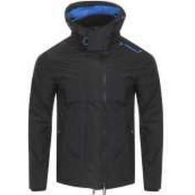Superdry Hooded Arctic Windcheater Jacket Black