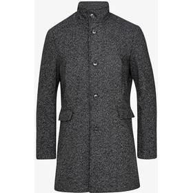 Selected Slhmosto Wool Coat - Black/White