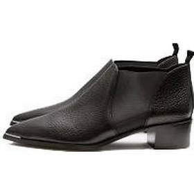 ACNE STUDIOS Jenny Shoes Grain, Black