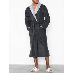 Polo Ralph Lauren Shawl Robe Charcoal