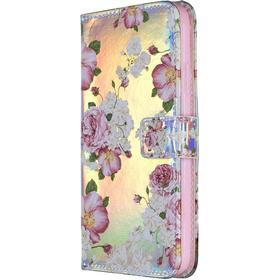 iPhone X / XS Laser Shine Cover m. Pung Peonies