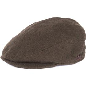 Barbour M's Redshore Flat Cap Forest Green