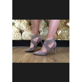 Marsell cross vamp pointed court - Taupe