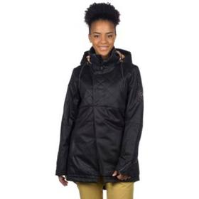 Envy Insulated Jacket black suede embossed snak Gr. XS