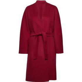 Max Mara Weekend Gimmy Reversible Wool Coat - Bordeaux