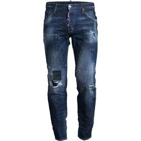 DSquared2 Toppa Medium Run Dan Jeans - Blue