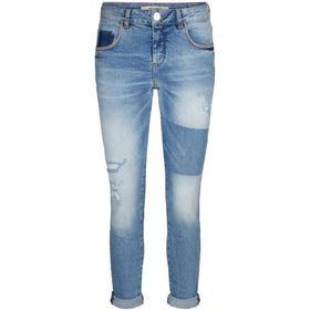 Mos Mosh Bradford Block Jeans - Light Blue