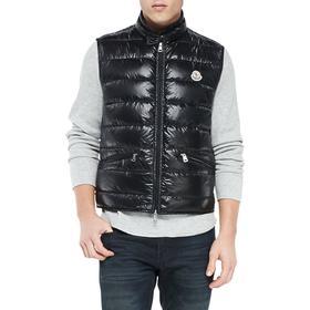 Moncler Gui Down Vest - Black