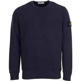 Stone Island Badge Logo Sweatshirt - Dark Blue