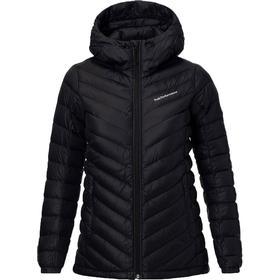 Peak Performance Pertex Frost Down Hooded Jacket - Artwork Black