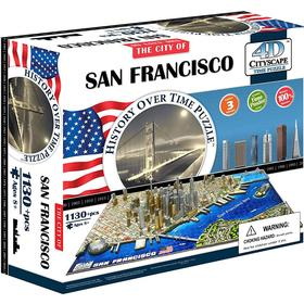 4D Cityscape The City of San Francisco 1130 Pieces