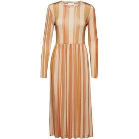 Stine Goya Joel Dress - Stripes Wheat