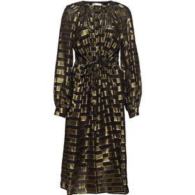 Stine Goya Lydia Dress - Optical Gold